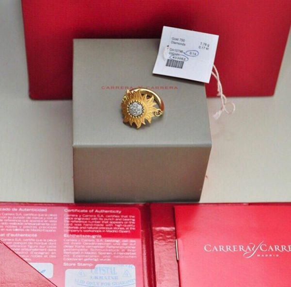Кольцо Carrera y Carrera с бриллиантами